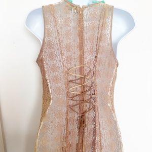 Antica Sartoria Dresses - NWT Antica Sartoria Lace Boho Dress/Tunic/Coverup